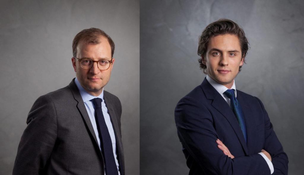 Quentin Nansot et Charles Chavent responsables des partenariats